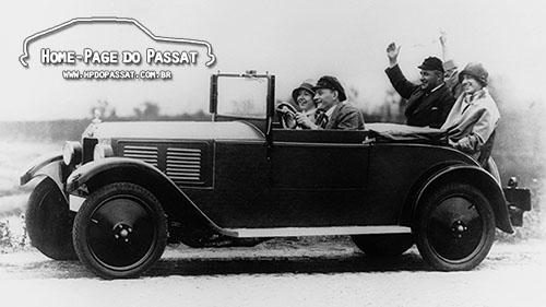 DKW P15 1928, o primeiro modelo da marca.