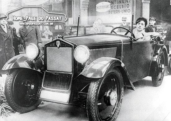 DKW F1, o primeiro modelo da montadora com tração dianteira. Era equipado com motor de 2 cilindros. Foto: Audi AG