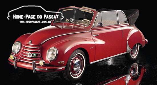 O DKW F91 introduziu a mecânica de 3 cilindros e foi produzido até 1959.