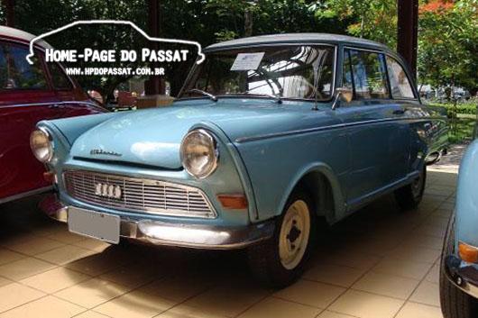 DKW Junior: lançado em 1959, após a compra da Auto Union pela Daimler-Benz.