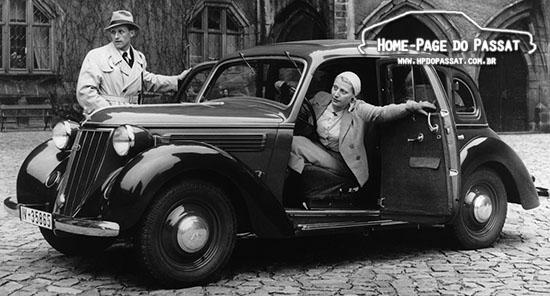 Wanderer W24, modelo lançado em 1937. Foto: Audi AG
