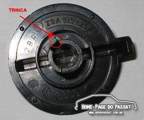 Passo a passo: consertando o botão do ar-quente - Home-Page do Passat
