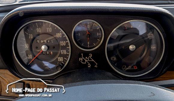 Painel do Passat LS 1978