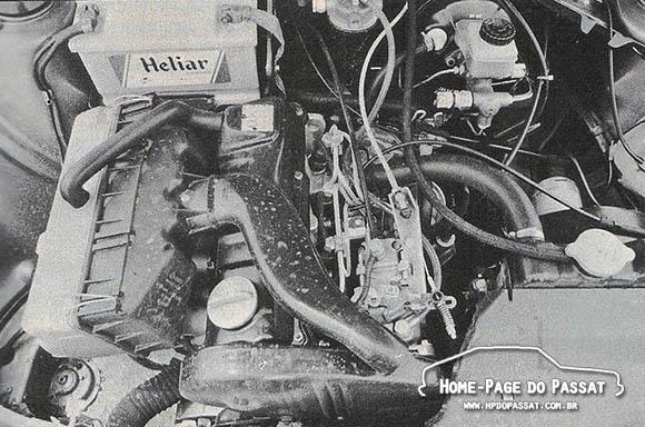 Motor do Passat diesel