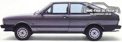 História do Passat - Passat GTS Pointer 1984, ainda com o motor 1.6