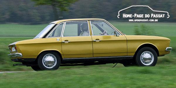 O K70 apresentava inhas retas e grande área envidraçada. Fonte: Auto Bild