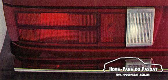Lanterna vermelha do Passat - 1974 a 1980