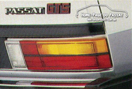 Lanterna do Passat com friso preto - 1984
