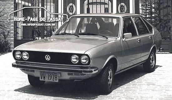 Passat LSE 1978, o Passat Executivo