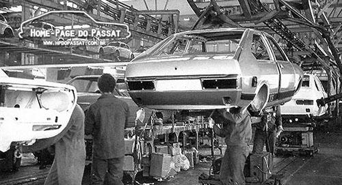 Números de produção e vendas do Passat