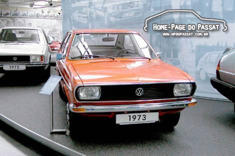 Passat 1973 no Museu da Volkswagen