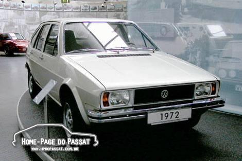 Protótipo EA 272 no Museu da Volkswagen.