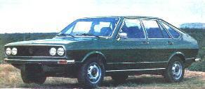 História do Passat - Passat LSE 1978