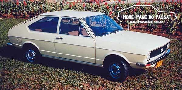 Versões do Passat por ano/modelo - Passat LS 1974
