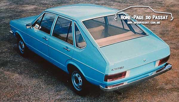 Passat LS 1975 4 portas