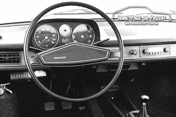 Volante do Passat 1974 a 1977