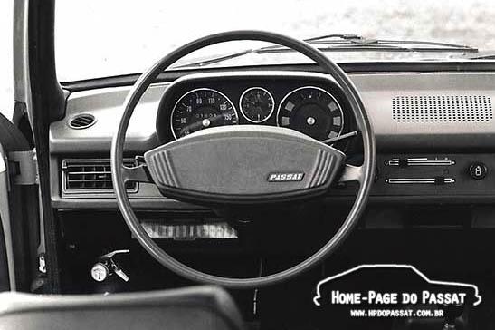Volante do Passat 1978