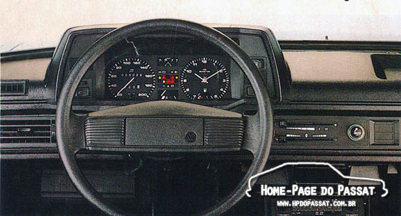 Volante do Passat - 1985 a 1989