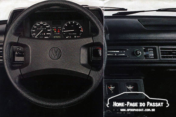 Volante Passat GTS Pointer 09/1987 a 12/1988