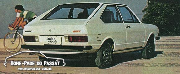 Passat Surf 1978 - Teste da Revista Auto Esporte