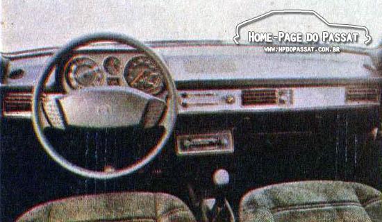 Passat 1983 na revista O Cruzeiro