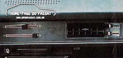 Passat com ar condicionado - Painel