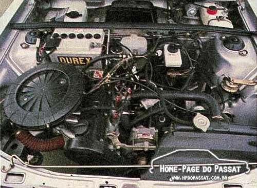 Motor do Passat GTS 1.8 - Quatro Rodas nº 290, setembro de 1984