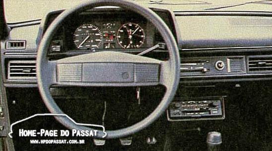 Teste do Passat LS Village 1986