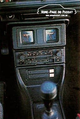 Console - Passat GTS Pointer 1988