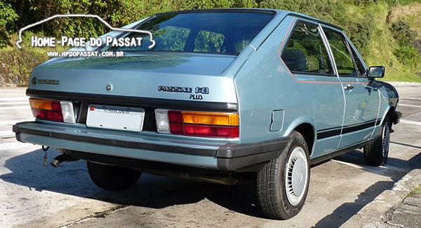 Tabela de cores do Passat: Azul Copa, linhas 1983 e 1984